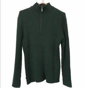 Lauren Ralph Lauren Thick Knit Ribbed Sweater, XL